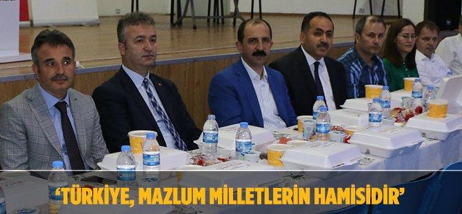 """AK Parti Samsun İl Başkanı Göksel, """"Gazze Artık Rahat Nefes Aldı"""""""