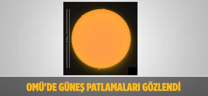 Samsun OMÜ'de Güneş Patlamaları Gözlendi