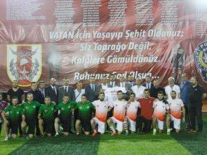 Samsun'da  'Şehitlere Saygı' Turnuvası
