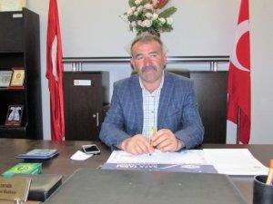 """Samsun Ladik İlçe Ziraat Odası Başkanı Demir'den """"Anız Yakmayın"""" Uyarısı"""