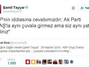 Şamil Tayyar'dan HDP'ye 'DEAŞ' Cevabı