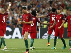Euro 2016'da İlk Yarı Finalist Portekiz