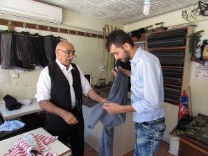 Samsun'da Terzi Esnafı Bayram Mesaisi Yapıyor