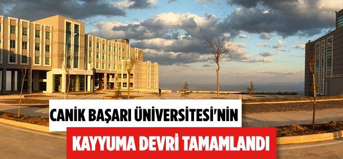 Samsun Canik Başarı Üniversitesi Resmen Kayyuma Devredildi
