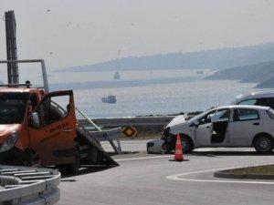 Osman Gazi Köprüsünde İlk Kaza