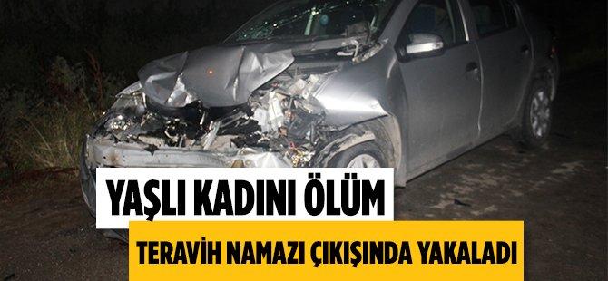 Samsun'da Yaşlı Kadın Teravih Çıkışında Bir Aracın Çarpmasıyla Olay Yerinde Hayatını Kaybetti