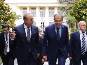 Dışişleri Bakanı Çavuşoğlu, Lavrov İle Görüştü