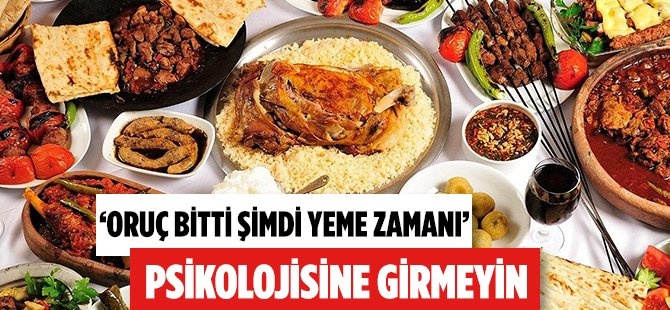 Samsun Halk Sağlığı Müdürü Dr. Mustafa Kasapoğlu'ndan Ramazan Bayramı'nda Beslenme Önerileri