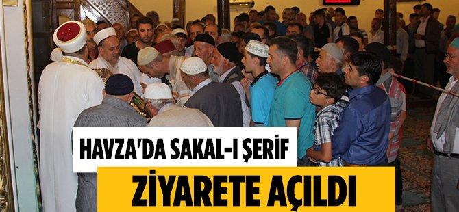 Samsun'da Sakal-I Şerif'i, Ziyarete Açıldı