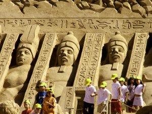 Uluslararası Antalya Kum Heykel Festivali Kapılarını Açtı