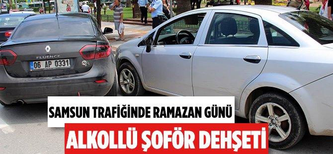 Samsun'da Ramazan Günü Alkollü Sürücü Dehşeti