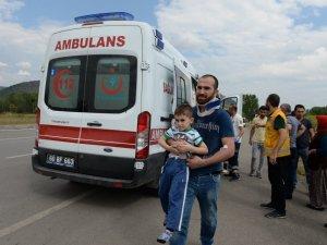 Tokat'ta Trafik Kazası: 11 Yaralı