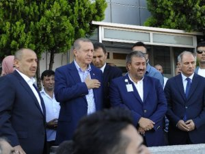 Erdoğan Atatürk Havalimanı'nda İncelemelerde Bulundu