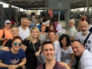 Samsun Mübadele Derneği Türkiye'yi Yunanistan'da Temsil Etti