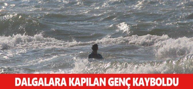 Samsun'da Dalgalara Kapılan Genç Kayboldu