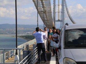 Osmangazi Köprüsünde Selfie Merakının Cezası 92 Lira
