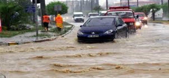 Samsun'a Sel Uyarısı