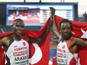 Milli Atletlerden 10 Bin Metre Yarışlarında 1 Altın, 1 Gümüş Madalya