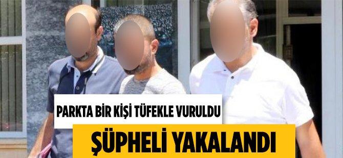 Samsun'da Parkta Bir Kişi Tüfekle Vuruldu
