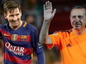 Cumhurbaşkanı Erdoğan, Messi ile Futbol Oynayacak