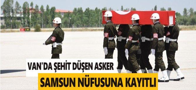 Şehit Ateşi Ankara'ya Düştü, Jandarma Er Eyüp Öksüz Samsun Nüfusuna Kayıtlı