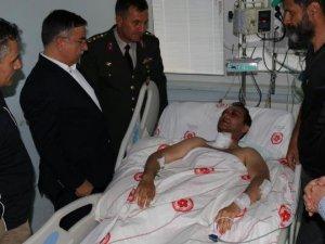 Giresun'da Yaralanan Pilot Üsteğmen, Gata'ya Sevk Edildi