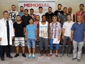 Antalyaspor Sağlık Kontrolünden Geçmeye Başladı