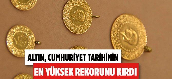 """Samsun Kuyumcular Odası Başkanı  Özman; """"Altın Cumhuriyet Tarihinin Rekorunu Tekrar Kırdı"""""""