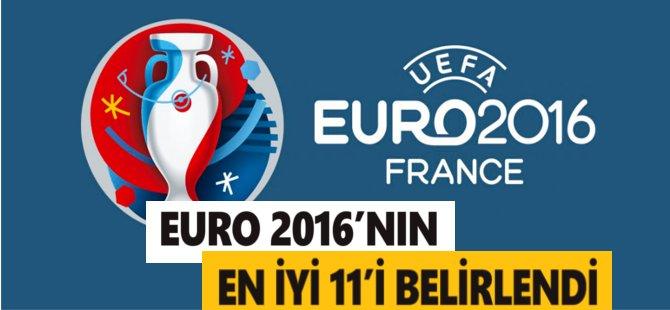 UEFA  EURO  2016'nın En İyi 11'ini Belirledi