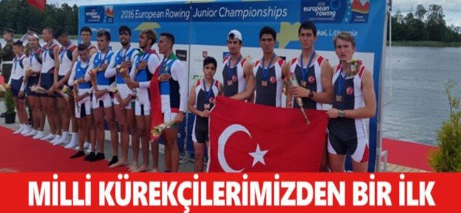 Milli Kürekçilerimizden Avrupa Şampiyonası'nda Bir İlk