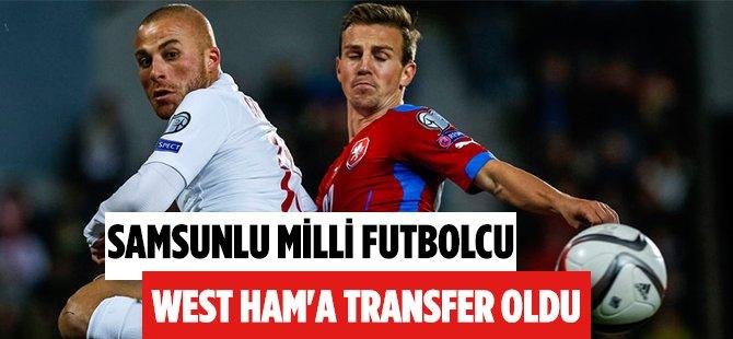 Samsunlu Futbolcu Gökhan Töre West Ham'a Transfer Oldu