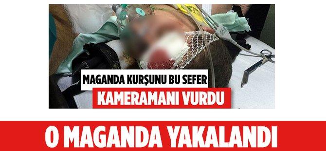 Samsun'da Kameramanı Vuran Düğün Magandası Gözaltında