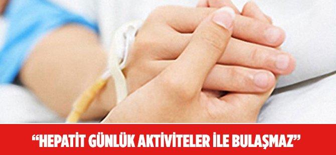 """Samsun OMÜ Profesörü Leblebicioğlu: """"Hepatit Hastaları Kendilerini Eve Kapatmasın"""""""