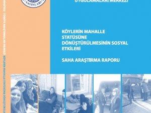 Köylerin Mahalle Statüsüne Dönüştürülmesinin Sosyal Etkileri
