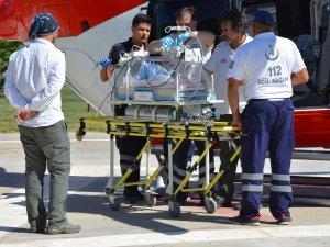 Antalya'da 2 Günlük Bebeğin İmdadına Hava Ambulansı Yetişti
