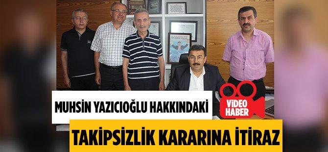 Muhsin Yazıcıoğlu Hakkındaki Takipsizlik Kararının Kaldırılması İçin Samsun'da Dilekçe Verdiler