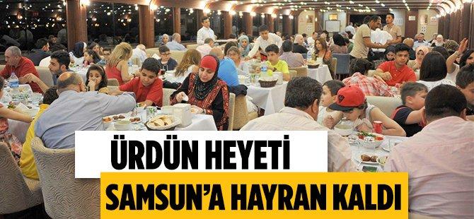 Ürdün Heyeti Samsun'a Hayran Kaldı