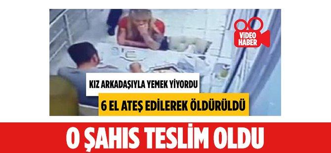 Samsun'da Lokantada Kız Arkadaşıyla Yemek Yiyen Şahsı Öldüren Zanlı Teslim Oldu