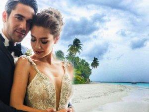 Kadir Doğulu ve Neslihan Atagül Balayı İçin Maldivler'de!