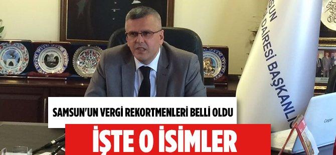 Samsun'un Vergi Rekortmenleri Açıklandı