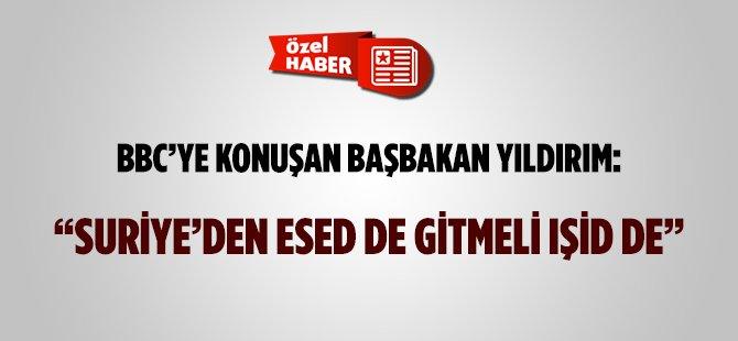 """Başbakan Yıldırım'den """"Esed'siz Suriye"""" Çıkışı!"""