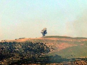 Derecik'te Askeri Üs Bölgelerine Saldırı