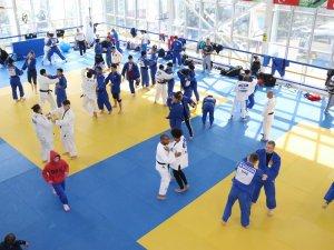 Samsun'da İşitme Engelliler Dünya Judo Şampiyonası Hazırlıklarını Devam Ediyor