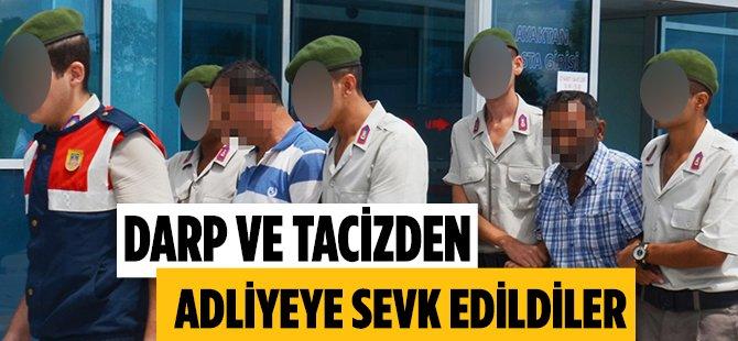 Samsun'da 2 Kişi Tarafından Taciz ve Darp Edildiğini Söyleyen Kadın Şahıslardan Şikayetçi Oldu