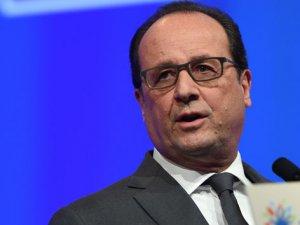 Fransa Cumhurbaşkanı Hollande: 'Önümüzde Uzun Bir Savaş Var'