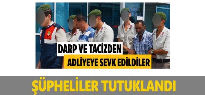 Samsun'da Taciz Ve Dayak İddiası Şüphelileri Tutuklandı