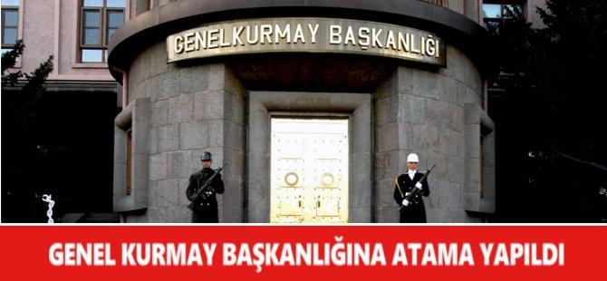 1. Ordu Komutanı Dündar Genel Kurmay Başkanlığına Atandı