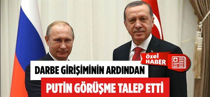 Putin Darbe Girişimi Sonrası Erdoğan'dan Acil Görüşme Talep Etti