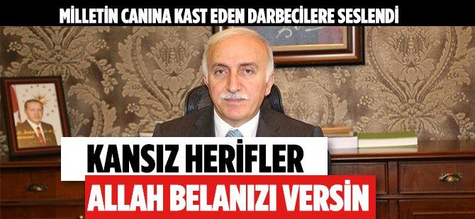 """Samsun Valisi Şahin'den Darbecilere: """"Erol'dan Ne İstediniz"""""""