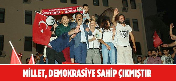 Darbe Girişimine Cevap İçin Samsun Cumhuriyet Meydanı'na Koştular